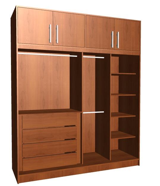 Programa para crear y desglosar muebles cocina y closet for Closet en madera para habitaciones