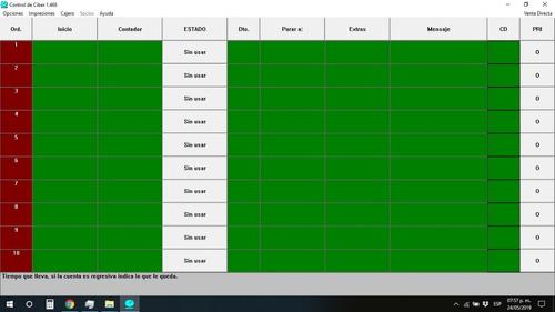 programa para cybercafe control de ciber 1.469 sin publicida