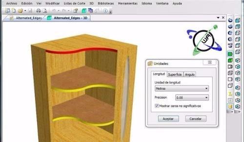 Programa para dise ar muebles cocina closet estantes y m s for Disenar muebles de cocina online