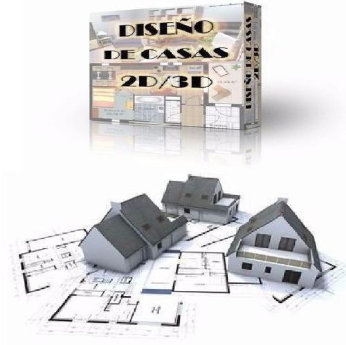 Programa para dise o casas 2d 3d crear interiores de hogar for Programa para crear casas en 3d