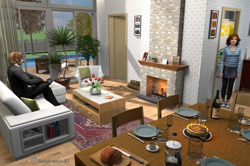 Programa para dise o casas 2d 3d crear interiores de hogar for Aplicacion para diseno de interiores 3d