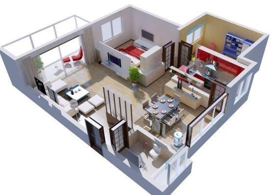 Programa para dise o casas 2d 3d crear interiores de hogar for Diseno de interiores 3d gratis