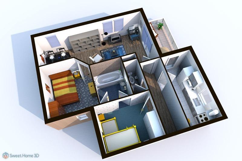 Programa para dise o casas 2d 3d crear interiores de hogar - Programa diseno interiores 3d gratis ...