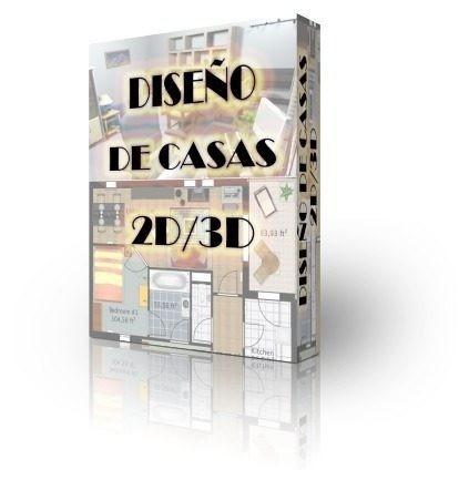 programa para diseño de casas 2d y 3d + objetos extra!!