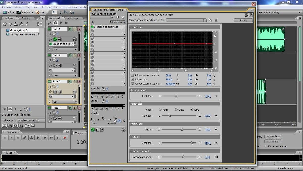 Programa para editar voces canciones editar voz y pista for Programas para disenar