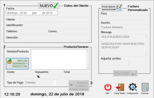 programa para facturación digital / electrónica