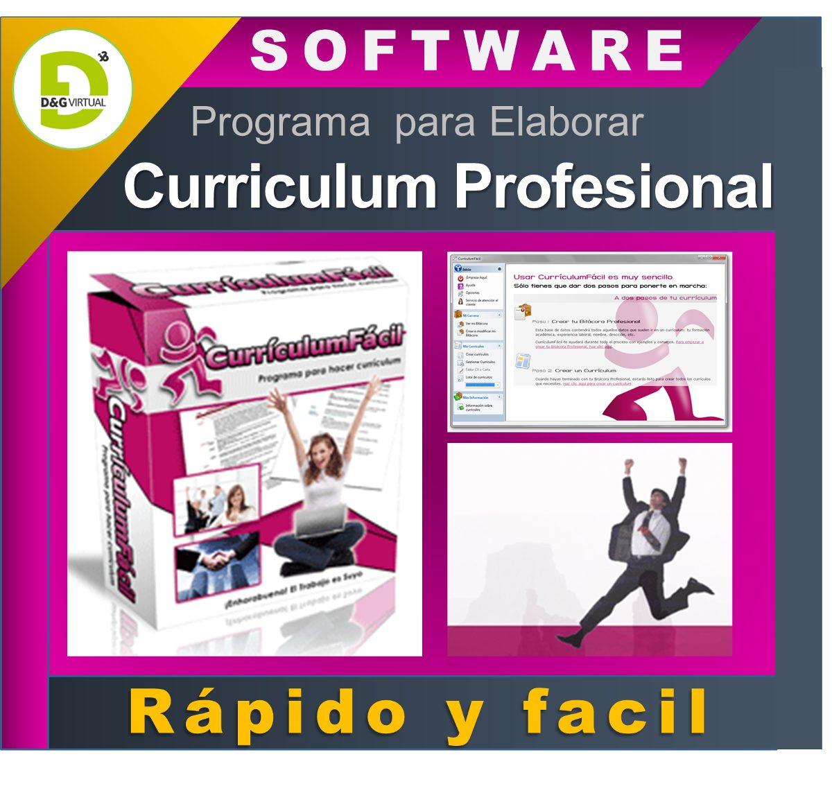 Programa Para Hacer Currículum, Con Más De 25.000 Modelos - Bs ...