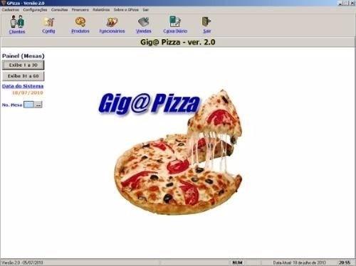 programa para lanchonetes e pizzarias delivery, tele entrega