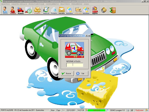 programa para lavagem automotiva com ordem de serviços v1.0
