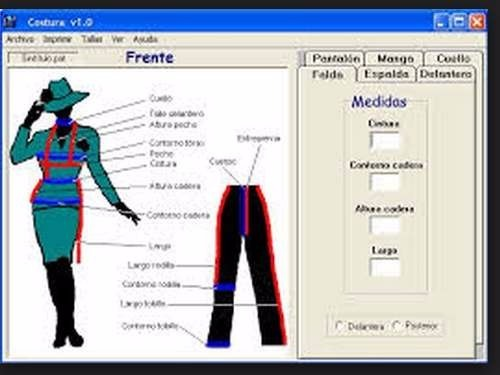 3f4fff41a Programa Para Moldes / Patrones Textiles A Medida - $ 30,00 en ...