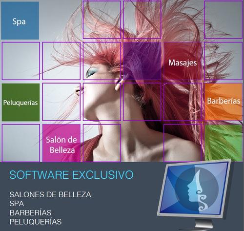 programa para salones de belleza, spa, peluquerías, estética