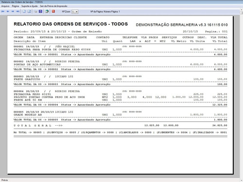 programa para serralheria com vendas e financeiro 5.3 plus
