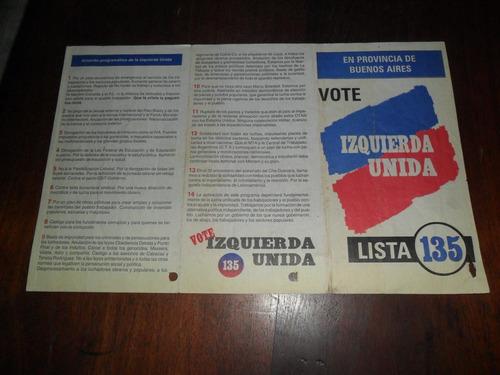 programa partido izquierda unida zamora zinmerman