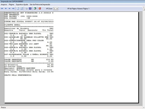programa pdv frente de caixa, estoque e financeiro v2.0 plus