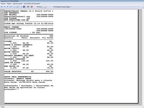 programa pedido de vendas estoque e financeiro v4.0 plus +