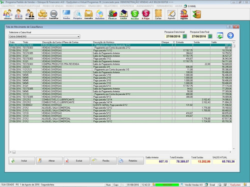programa pedido vendas estoque e financeiro v4.0 fpqsystem