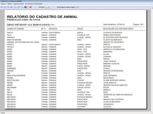 programa petshop e clinica veterinária + agendamento v3.0