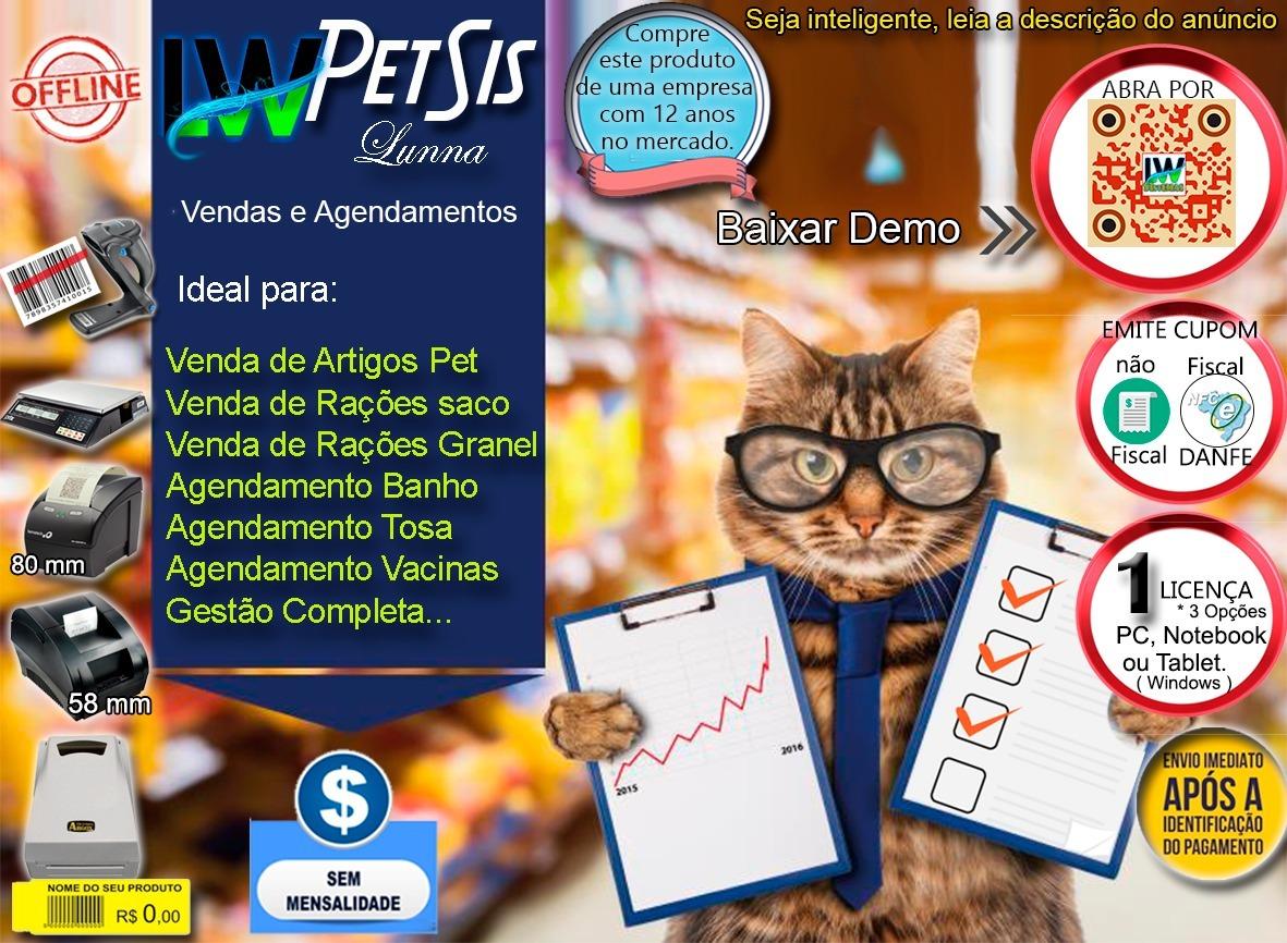47a682257c2d Programa Petshop Pdv, Loja, Vendas - Agendamento E Serviços - R$ 350 ...