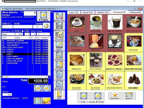 programa punto de venta para restaurant y restaurante bar