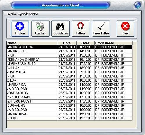 programa sistema consultorio medico clinica odontologica etc