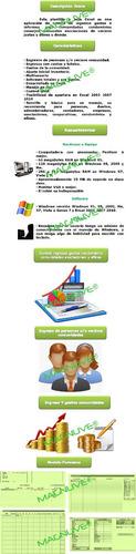 programa sistema control ingresos gastos informe condominios