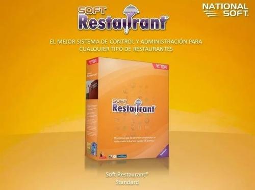 programa soft restaurant 8 std sistema punto de venta