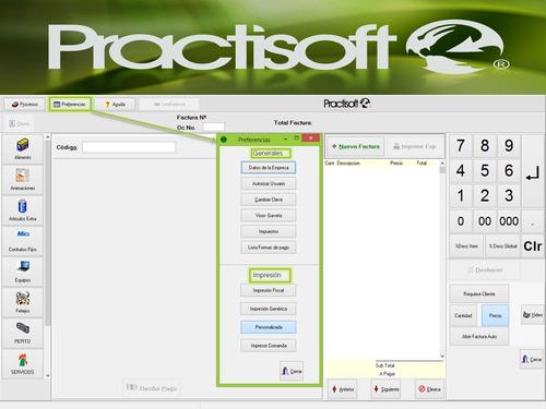 programa software de punto de venta, pos, caja, facturacion