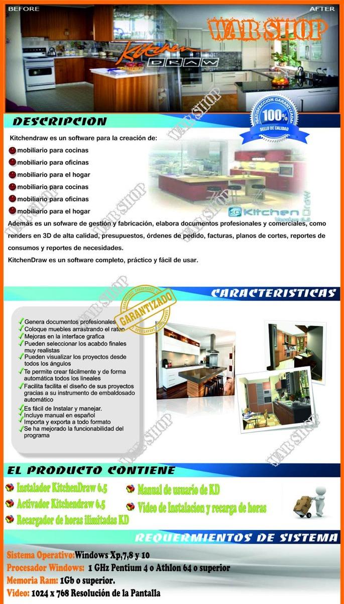 Programa Diseo Cocina Programa De Diseo Y Despiece De Muebles  # Xp Muebles De Cocina