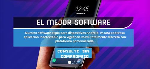 programa software monitoreo para celular espia