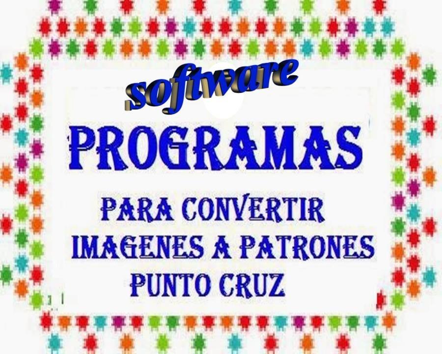 Programa Software Para Convertir Imagen En Punto De Cruz - $ 70,00 ...