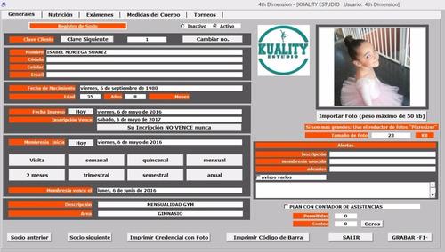 programa (software) para escuelas de baile
