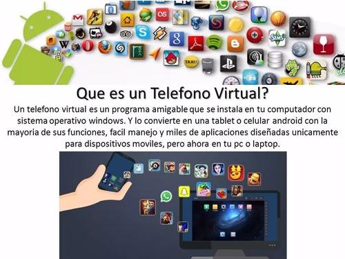 programa telefono celular virtual android pc laptop  digital