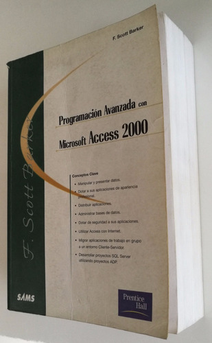 programación avanzada ms access 2000 prenticehall. 75493