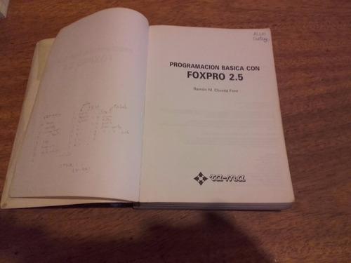 programación básica con foxpro 2.5
