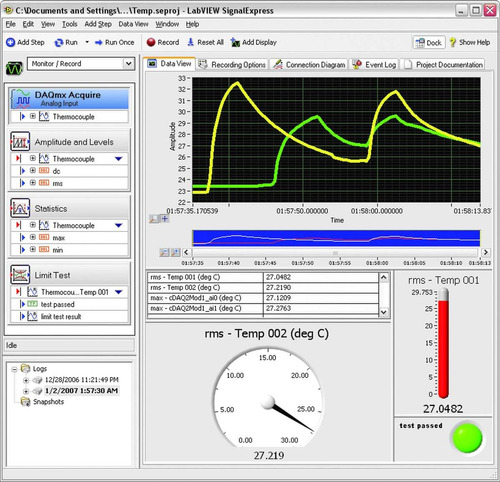 programación de aplicaciones en labview: monitoreo y control