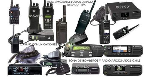 programación de equipos de comunicación