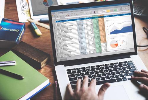 programación en excel , programas inventarios y análisis