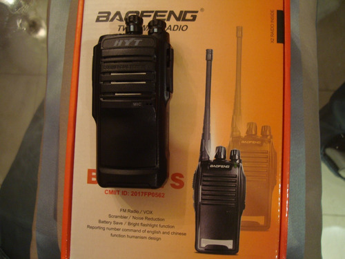 programação de rádio transceptor baofeng