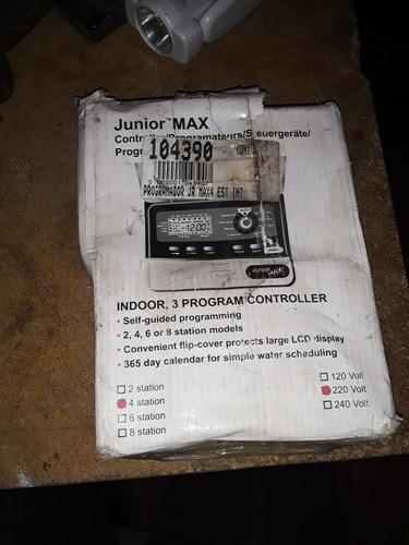 programador de riego marca junior max