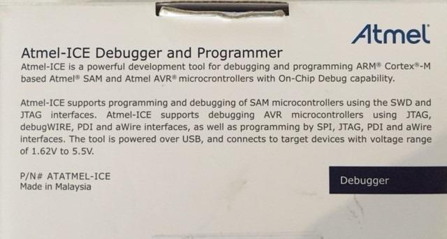 Programador + Debugger Atmel Ice