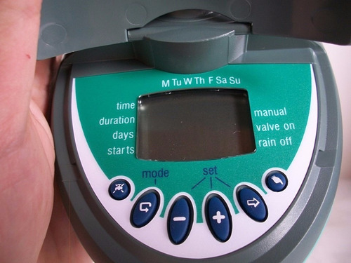 programador digital para sistemas de riego