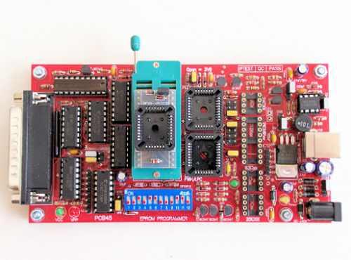 programador eprom,pic,plcc, 1 adaptador