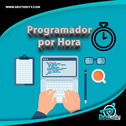 programador por hora - html, php, jquery, js, wordpress, cms