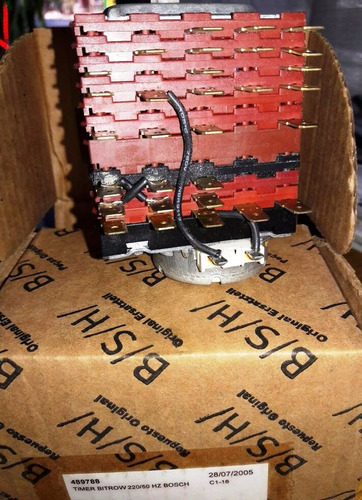 programador timer bosch bitrow código 452592 varios modelos