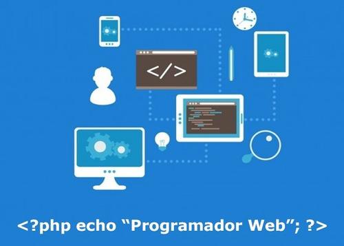 programador web css php js sql jquery angular vue laravel