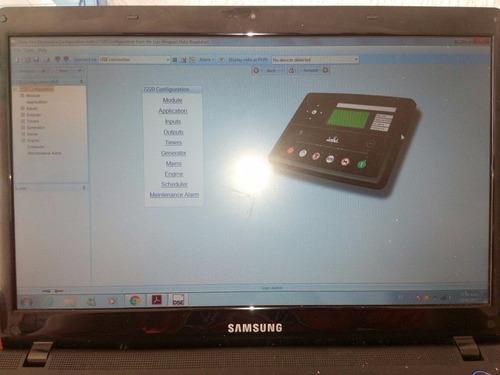 programador y escaneo de panel intelilite comap y dse