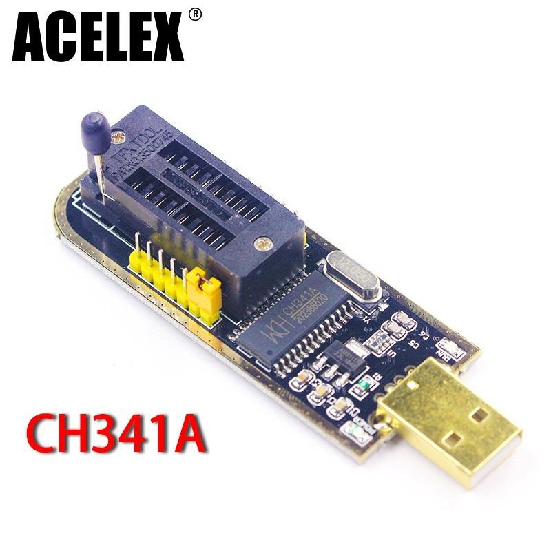 Programadora De Bios Ch341a Ch341 2425 Serie Eepron Flash