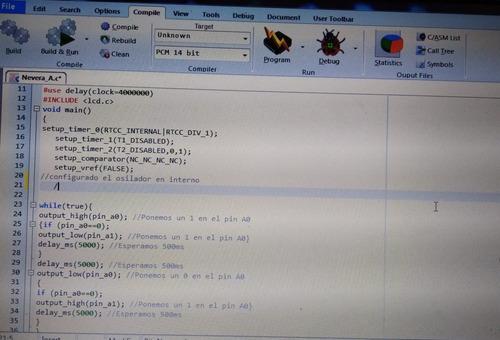 programar pic y crear proyectos