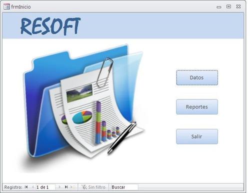 programas o software con microsoft access y excel
