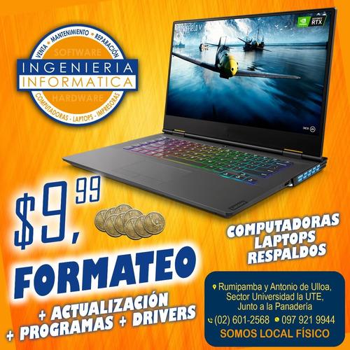 programas para computadoras / laptops / venta e instalación